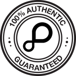100% Authentic. Guaranteed.