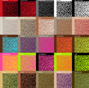 fingerprint colors thumb